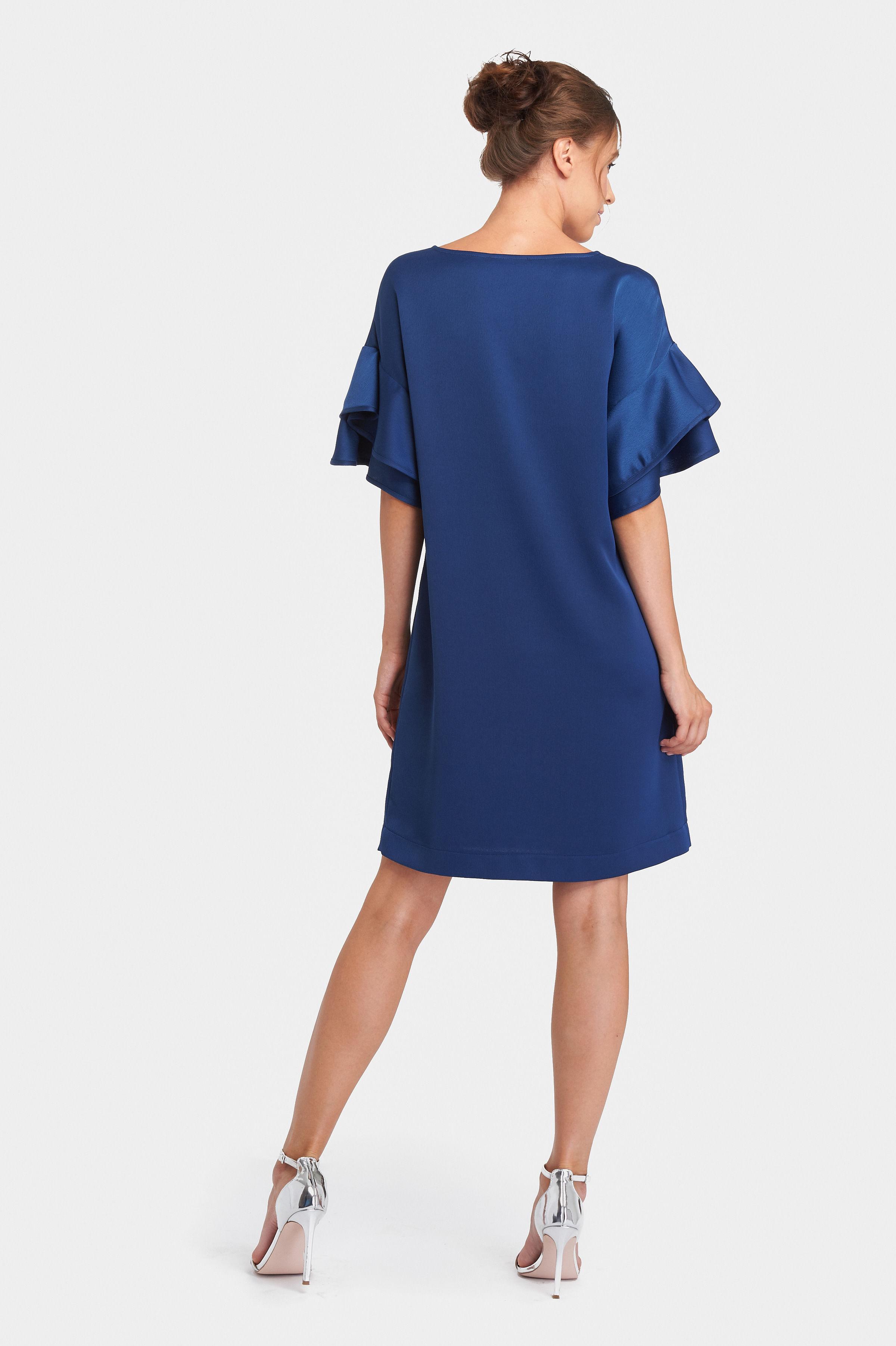 b15ada9123 šaty Esmes satén - JAR LETO 2018 výpredaj - E-SHOP - Chantall.sk