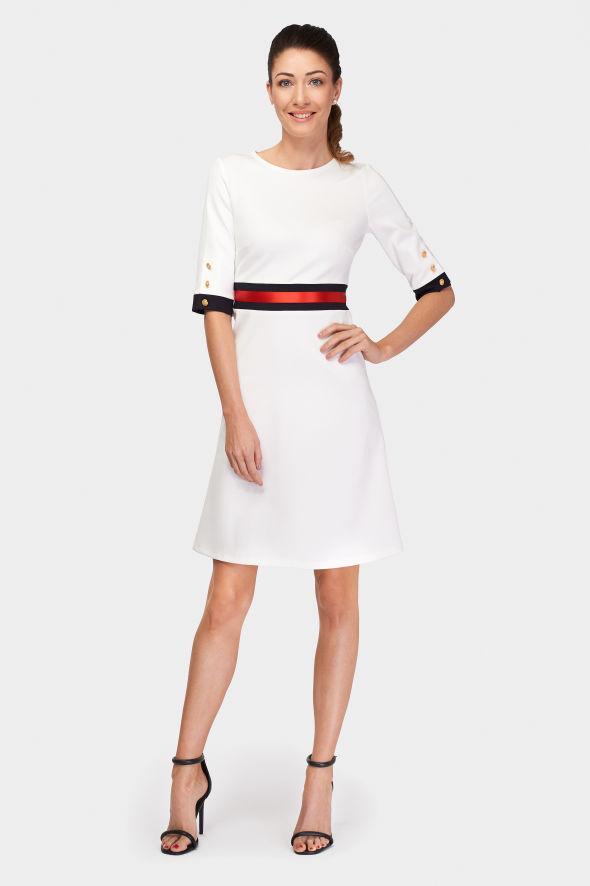 šaty Blanc